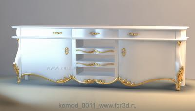 Chest of drawers 0011 3d stl модель для ЧПУ