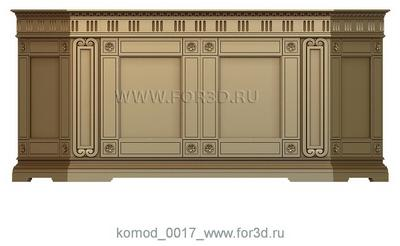Chest of drawers 0017 3d stl модель для ЧПУ