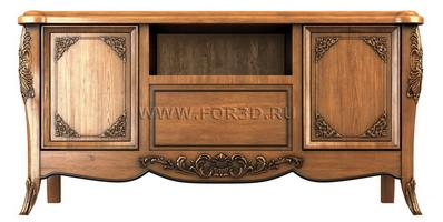 Chest of drawers 0018 3d stl модель для ЧПУ