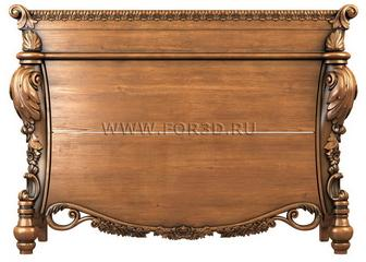 Chest of drawers 0019 3d stl модель для ЧПУ