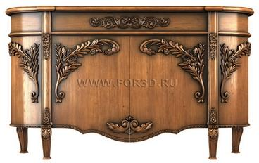 Chest of drawers 0020 3d stl модель для ЧПУ