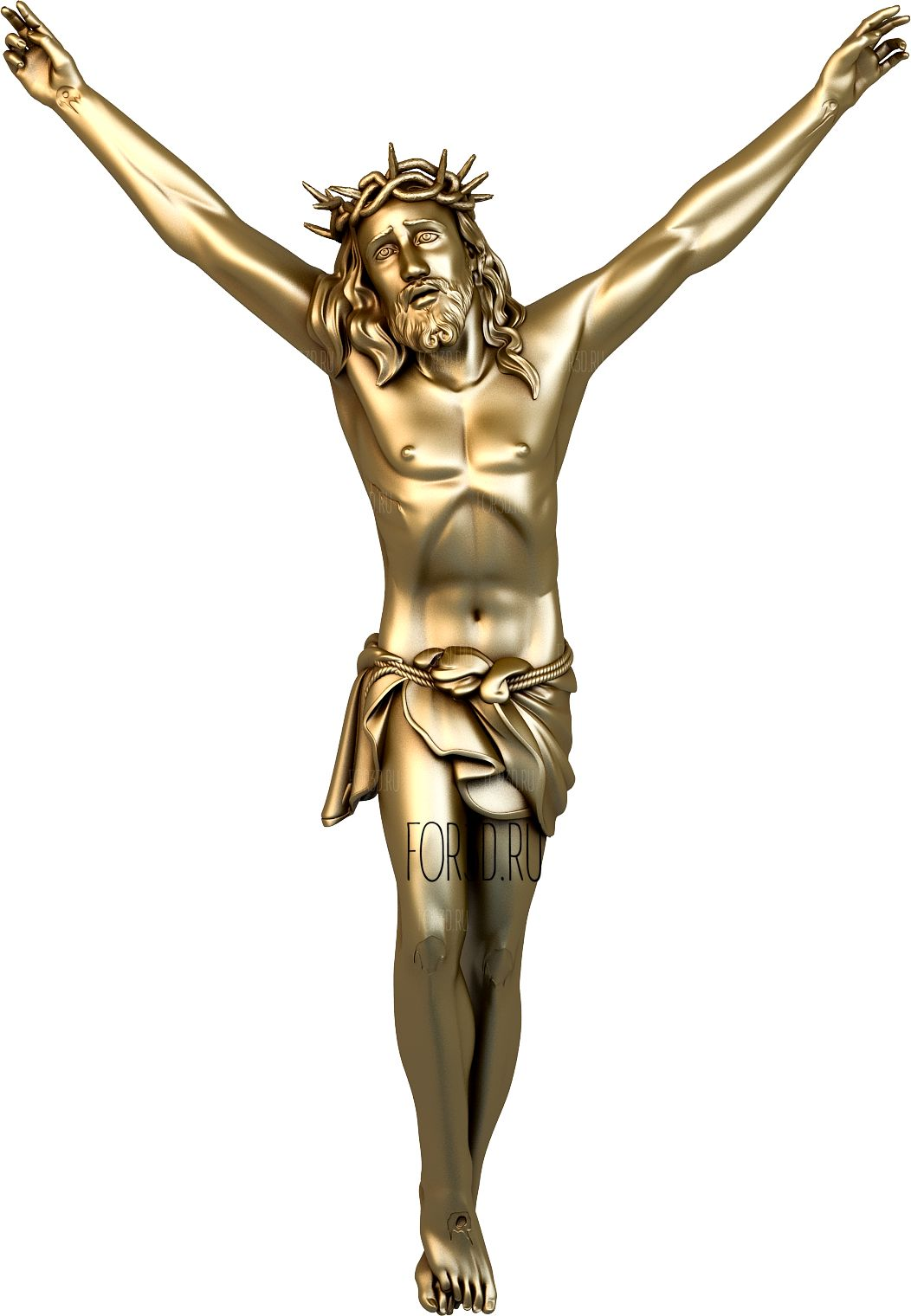 Crucifixion of Jesus 0006 3d stl модель для ЧПУ