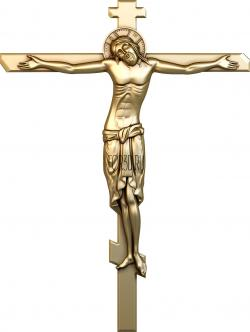 Crucifixion of Jesus 0007 3d stl модель для ЧПУ