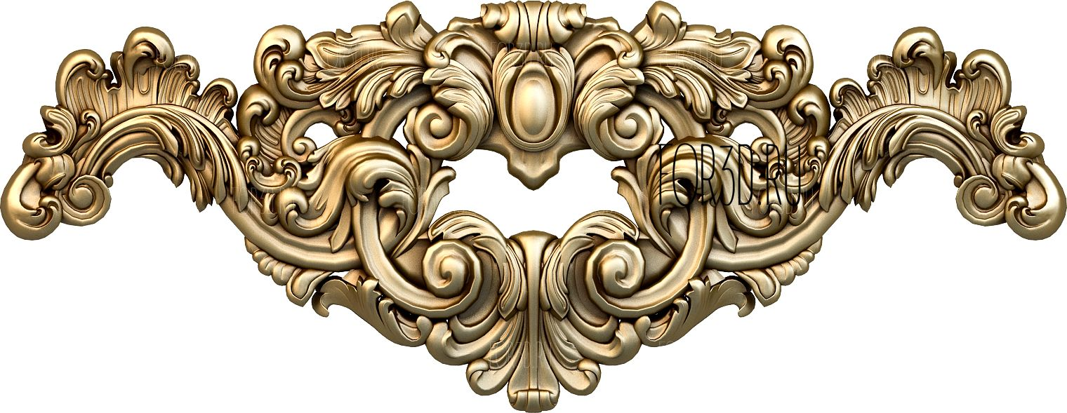 Decor horizontal 1034 3d stl модель для ЧПУ