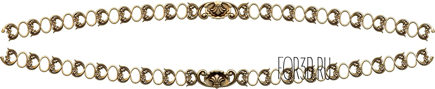 Decor horizontal 1118 3d stl модель для ЧПУ