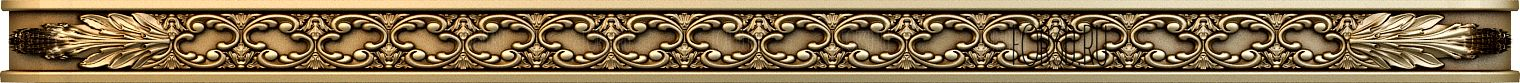 Decor horizontal 1128 3d stl модель для ЧПУ