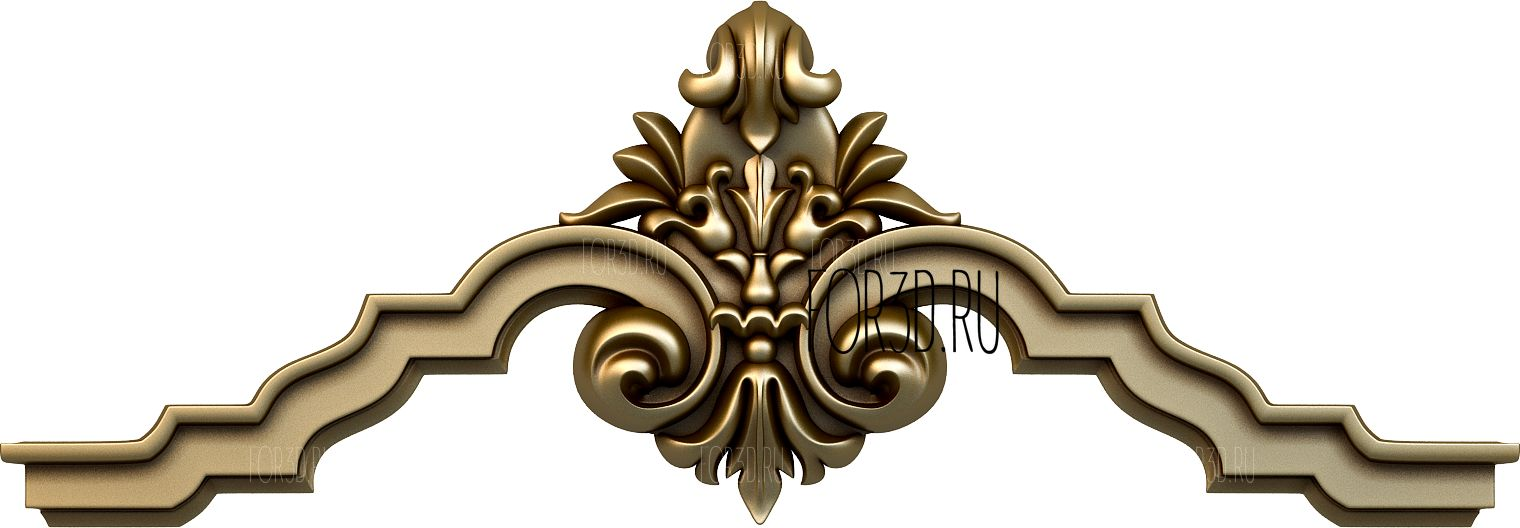 Decor horizontal 1172 3d stl модель для ЧПУ