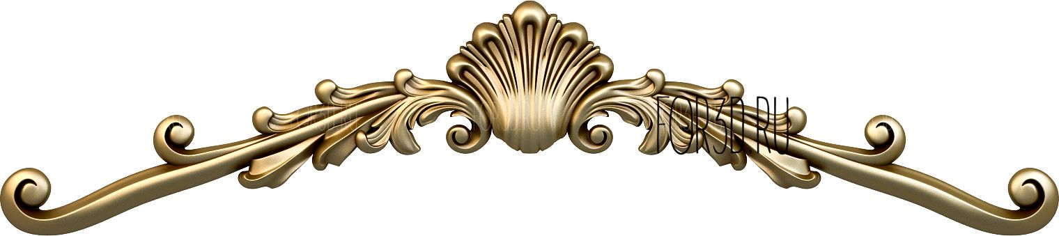 Decor horizontal 1209 3d stl модель для ЧПУ