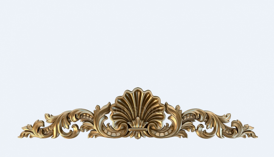 Decor horizontal 0834 3d stl модель для ЧПУ