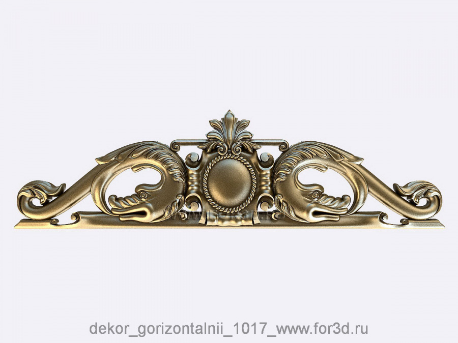 Decor horizontal 1017 3d stl модель для ЧПУ