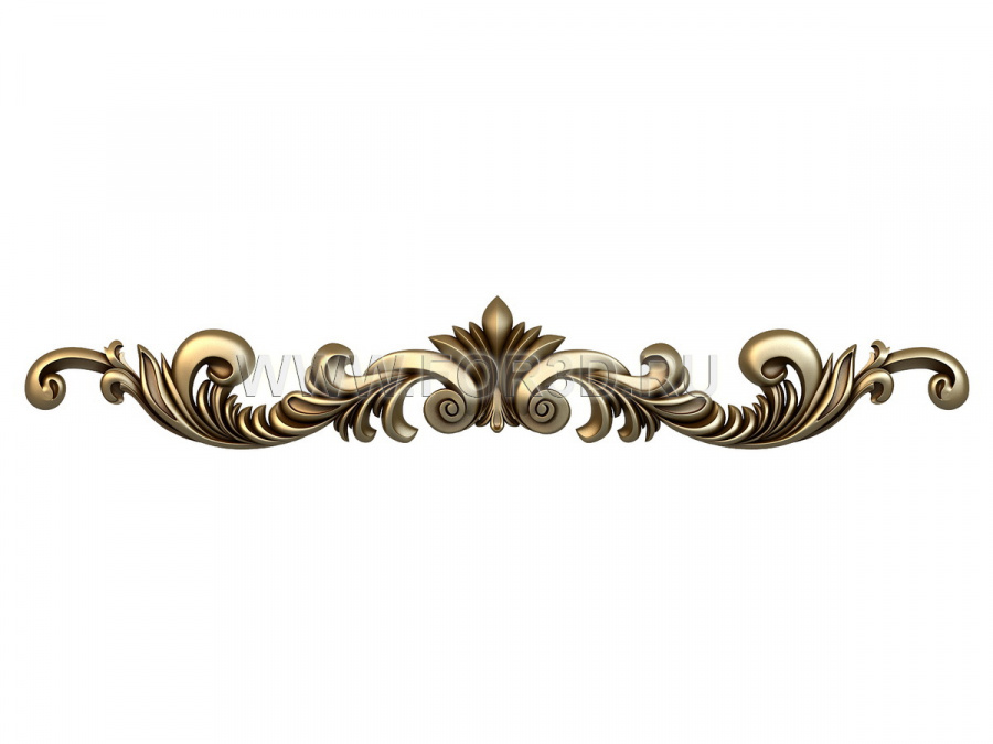 Decor horizontal 1569 3d stl модель для ЧПУ