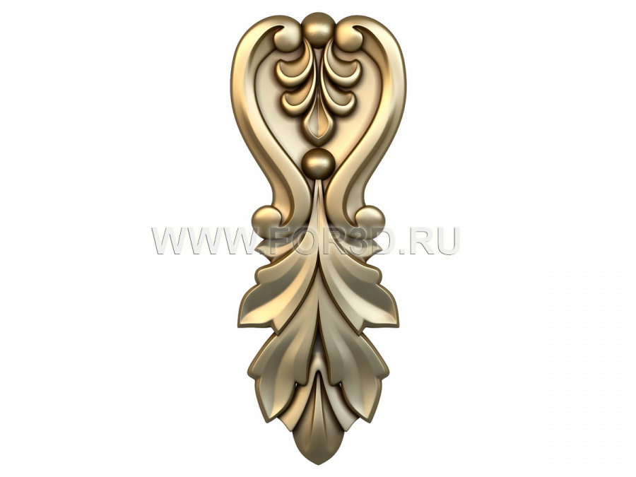Decor vertical 0483 3d stl модель для ЧПУ