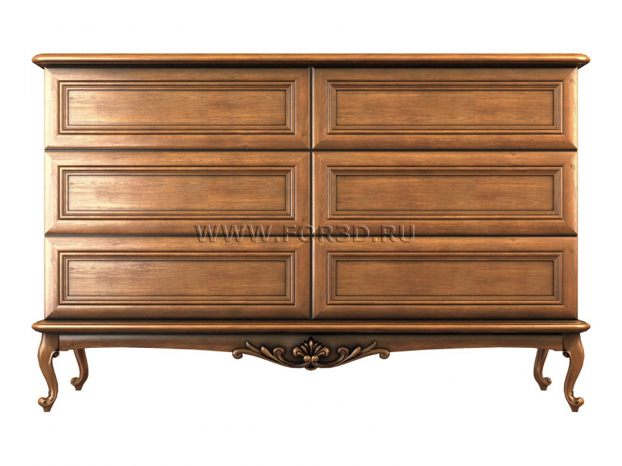 Chest of drawers 0022 3d stl модель для ЧПУ