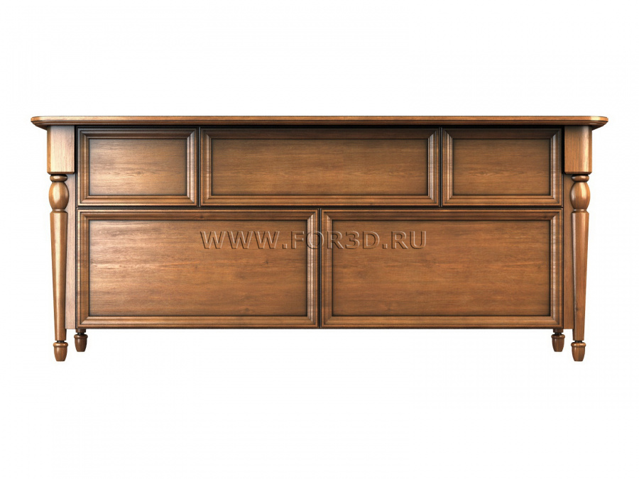 Chest of drawers 0023 3d stl модель для ЧПУ