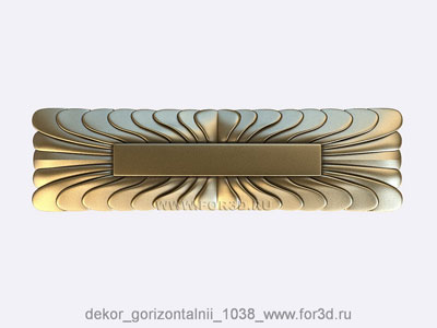 Decor horizontal 1038