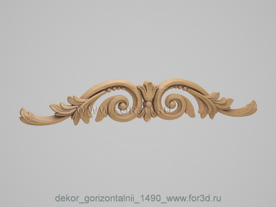 Decor horizontal 1490
