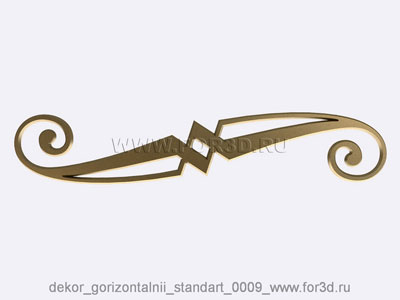 Decor horizontal standart 0009