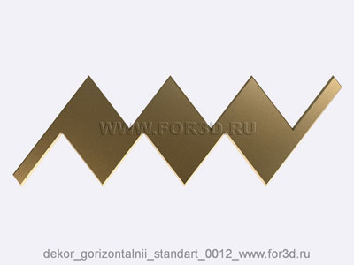 Decor horizontal standart 0012