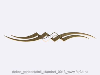 Decor horizontal standart 0013