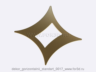 Decor horizontal standart 0017