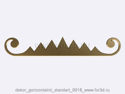 Decor horizontal standart 0018