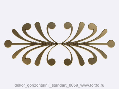 Decor horizontal standart 0059