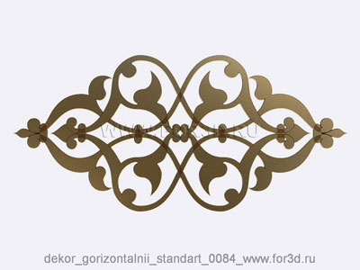 Decor horizontal standart 0084