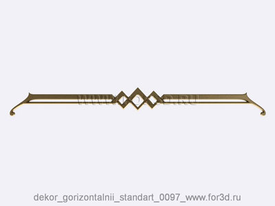 Decor horizontal standart 0097