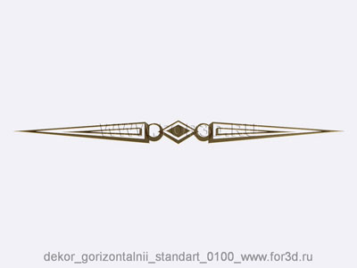 Decor horizontal standart 0100