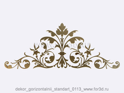 Decor horizontal standart 0113