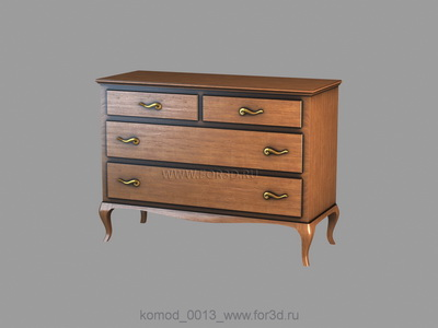 Chest of drawers 0013
