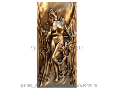 Panno 0277 Virgin Fantasy | 3d stl model for CNC